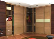 Угловой шкаф-купе: описание, преимущества, 15 популярных моделей