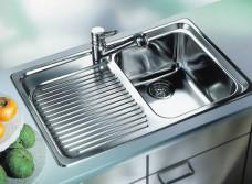 Кухонная мойка: основные виды и материалы