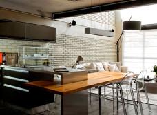 Кухня встроенная изготовление
