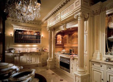 Королевский шик: кухня в стиле барокко