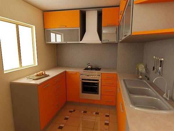 П-образная планировка кухонной мебели