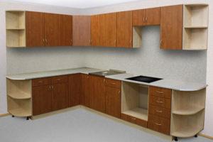 Кухня с фасадами ЛДСП