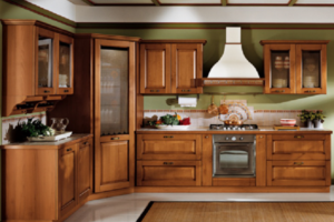 Деревянная кухня