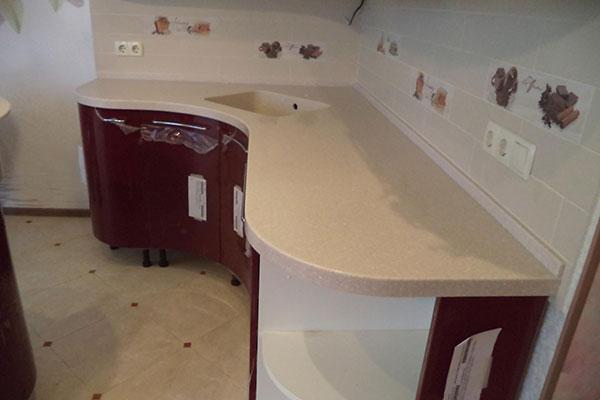Замена кухонной столешницы в Ивантеевке