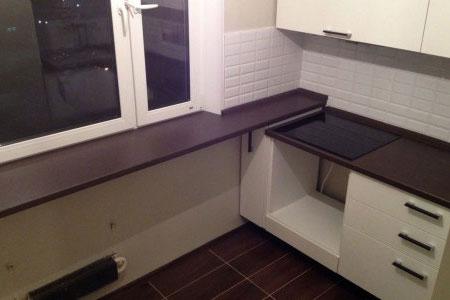 Замена кухонной столешницы в Красногорске