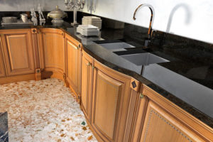 Замена кухонной столешницы в Мытищах