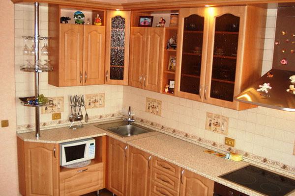 Замена кухонных фасадов в Зеленограде
