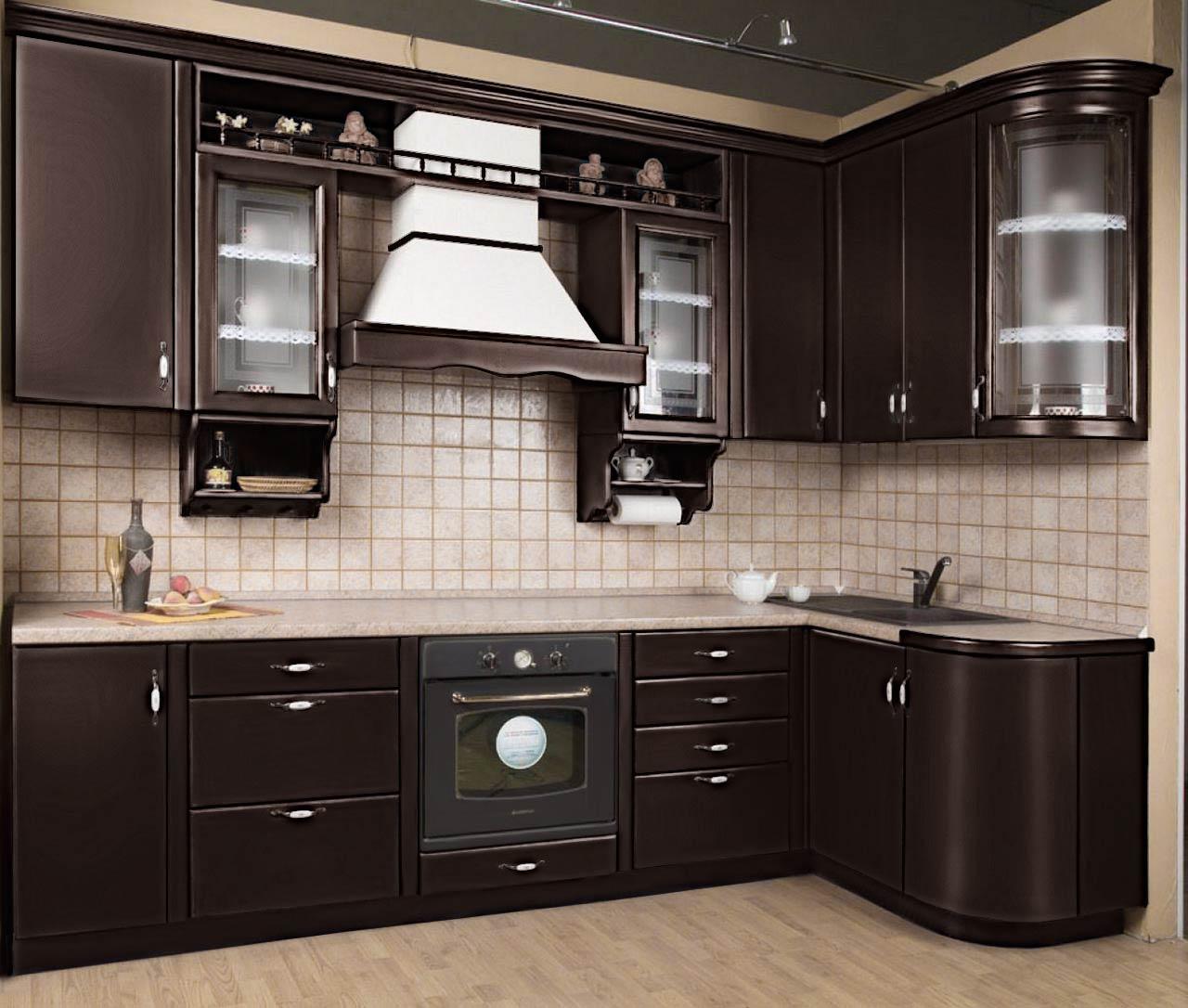 фасад МДФ Темно-коричневый кухонный фасад идеально впишется в стили минимализм, хай-тек и модерн. Поверхность глянцевая, устойчива к пагубному воздействию солнечных лучей. Не истирается даже под действием чистящих средств. Простота и легкость ухода великолепно сочетаются с отличной ударостойкостью и влагостойкостью. Пленочные фасады экологически безопасны, не выделяют вредных веществ. Долгий срок службы.
