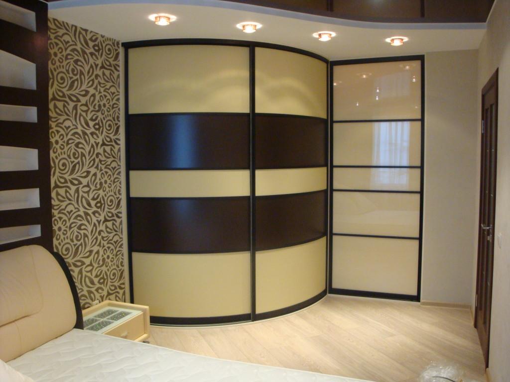 Дизайн радиусных гардеробных