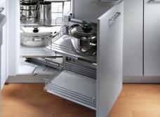 Волшебный уголок для кухни: конструкционные особенности и виды