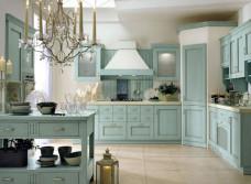 Уютная кухня в винтажном стиле
