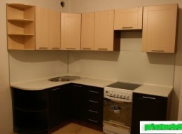 Фото работ кухня эконом угловая 1.6 х 2.4 м на заказ