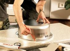 Замена мойки на кухне