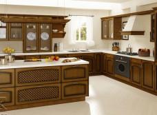 Изготовление угловой кухни