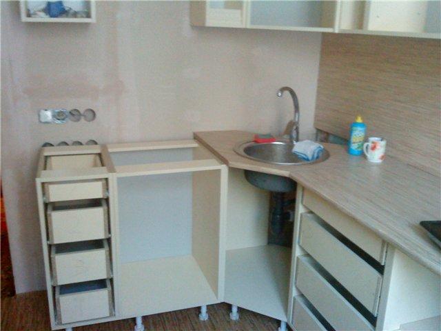 реставрация кухонной мебели на дому