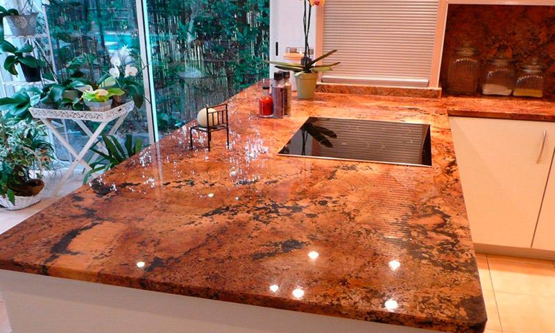 Ремонт кухонной столешницы из искусственного камня