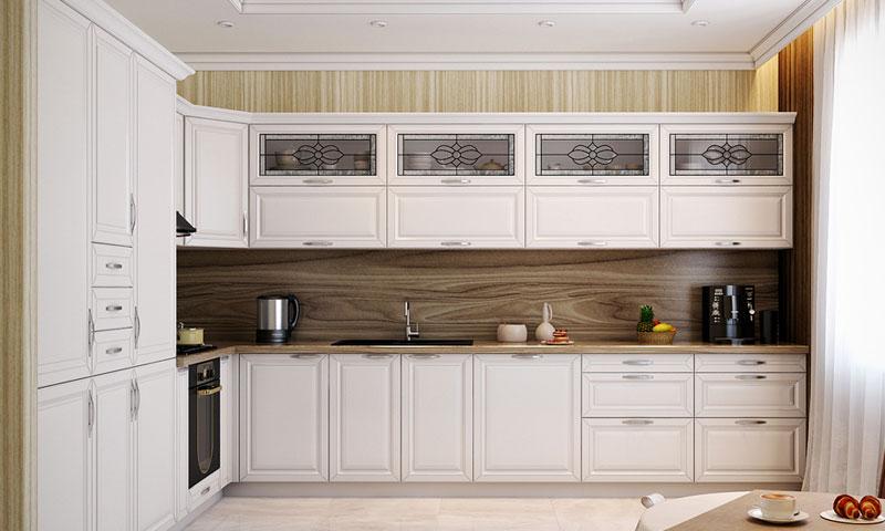 Угловая кухня под заказ фото