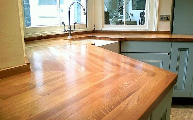 Ремонт деревянной столешницы