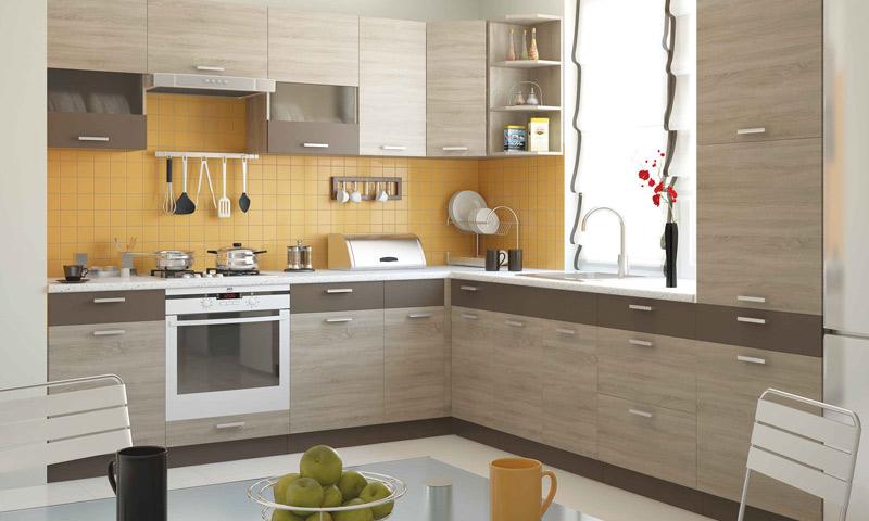 изготовление деревянной кухни