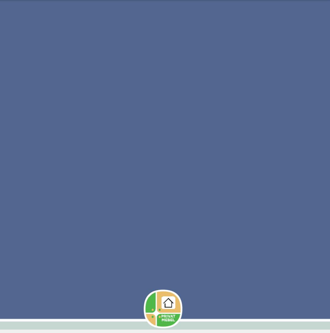 Голубой матисс глянец 1025