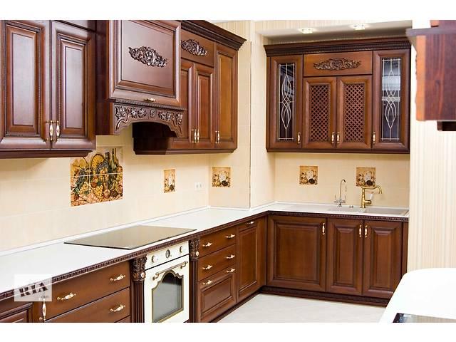 Изготовление кухонных фасадов из массива дерева