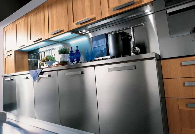 Производство кухонных фасадов из металла