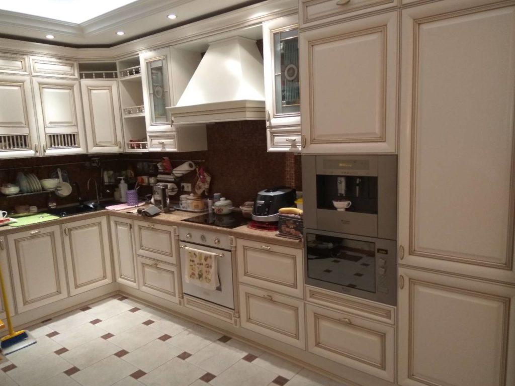 реставрация кухонных фасадов г. Москва ул. Братиславская 19к2